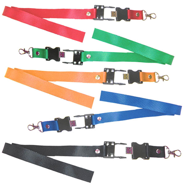 Promotional Lanyards with USB Flash drives